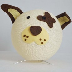 Lampada ZOOcobo DOGGY colore Shell