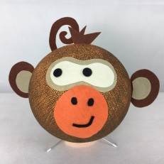 Lampada ZOOcobo MONKEY color brown