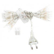 Filo luminoso 35 luci presa elettrica