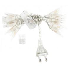 Filo luminoso 50 luci presa elettrica