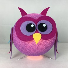 Lampada ZOOcobo OWLY colore cyclam