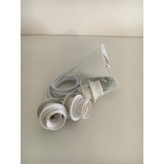 Sospensione Tripla PVC bianca